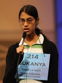 Sukanya Roy - 2011 Spelling Bee Champion